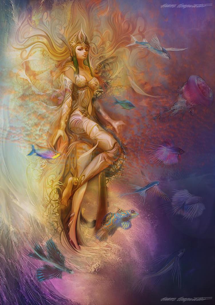 Water Angel by BramLeegwater