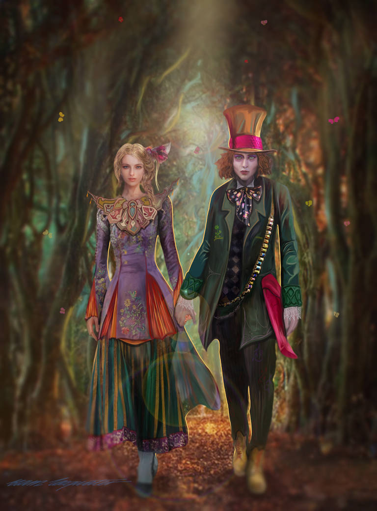 Alice Through the Looking Glass  by BramLeegwater