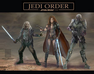 Jedi Order by BramLeegwater
