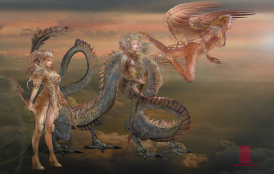 Fantasy Myth Characters by BramLeegwater