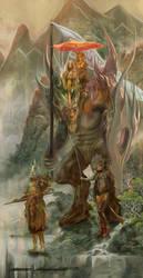 Untitled fantasy art1 by BramLeegwater