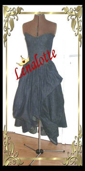 Denim Ballgown by lenalotte
