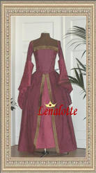 Tudor gown by lenalotte