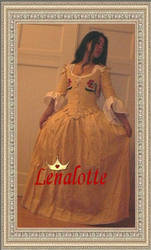 18.th century dress by lenalotte