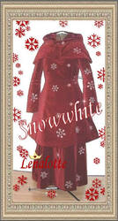 SnowWhite Coat, Skirt and Cape by lenalotte
