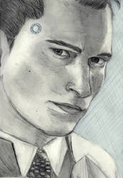 Hi I'm Connor, I am the android sent by Cyberlife by DoubleVirgo