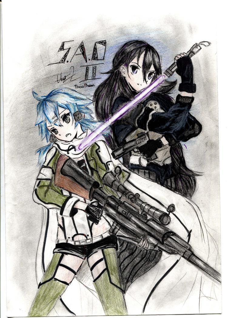 Sword Art Online II by doko-demo-doa
