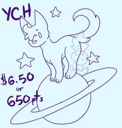 Feral Spaced Out Ych (OPEN)