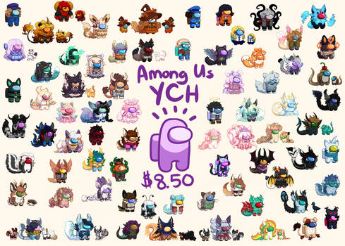 Among Us YCH (CLOSED, WAITLIST OPEN, READ DESC.)