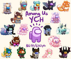 Among Us YCH (OPEN LONG QUEUE)