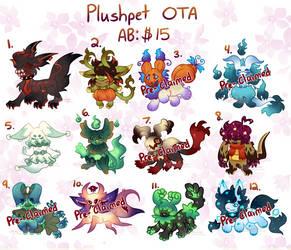|OTA| (#6 open) Plushpet Babs 4 by dandyliondreamer