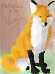 A fox by Nomidfox