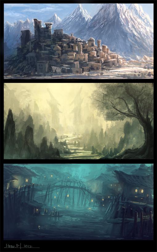 Environment Design013 by Eru17