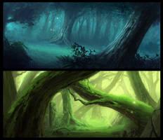 Forest Concept by Eru17