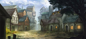 Medieval Town049