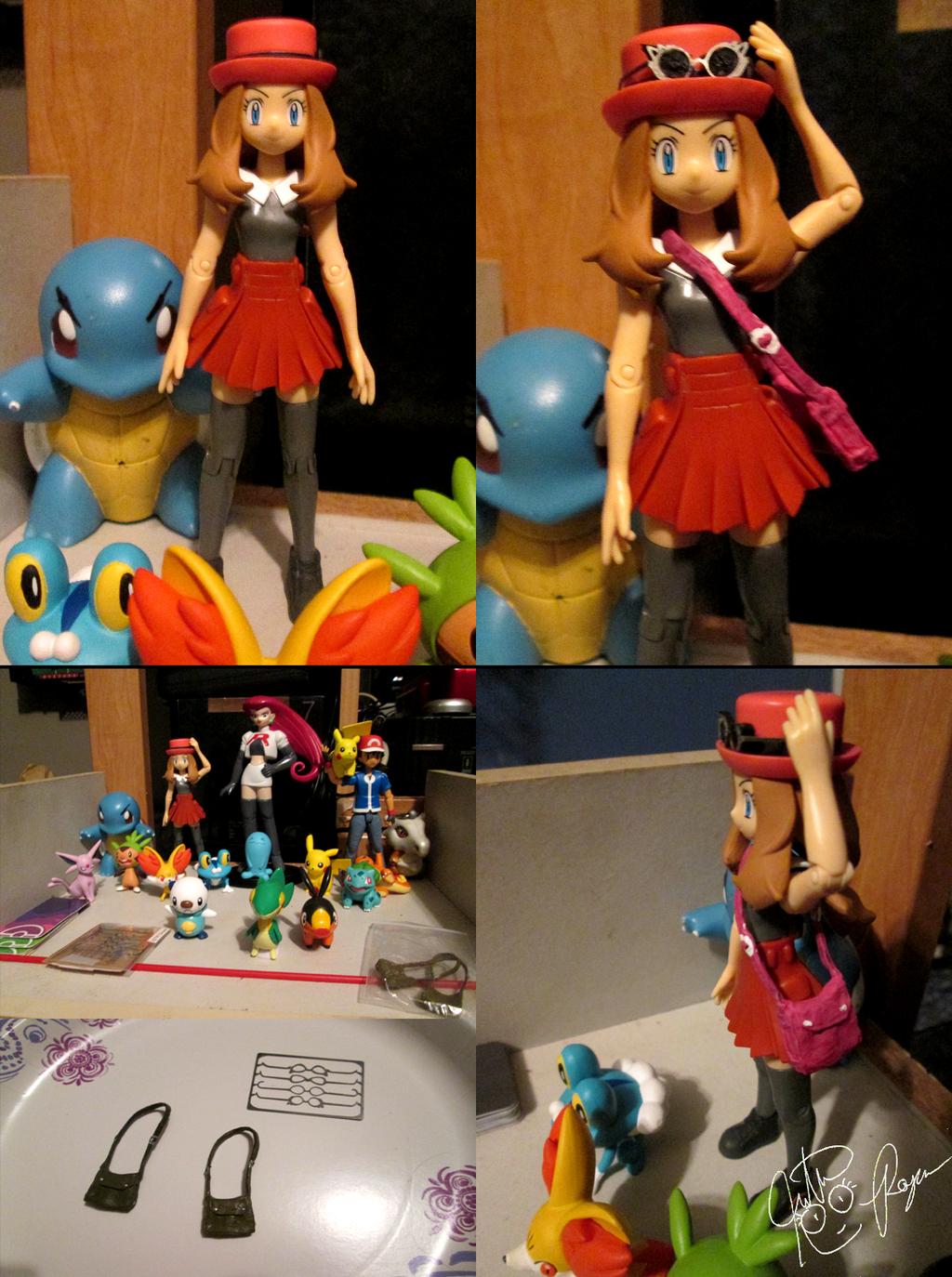 Pokemon Serena Custom Accessories by BouncekDeLemos
