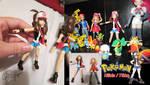Pokemon Hilda/Touko Custom Figure