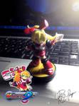 Call - Mighty No. 9 Custom Amiibo Figure