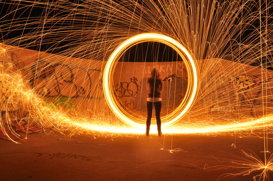 Fun With Steel Wool 3.0 by CzarcasticRemarx