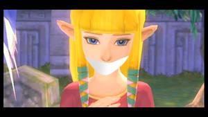 Zelda gagged