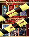 Commission Prices June 2019 Commission closed