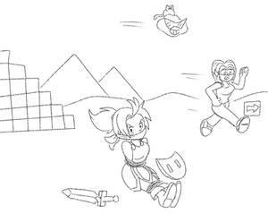 Sketch : Wonder Girl