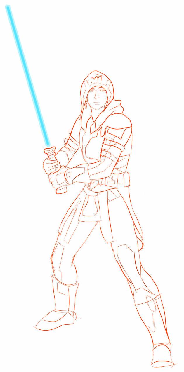 How To Draw Jedi Knights