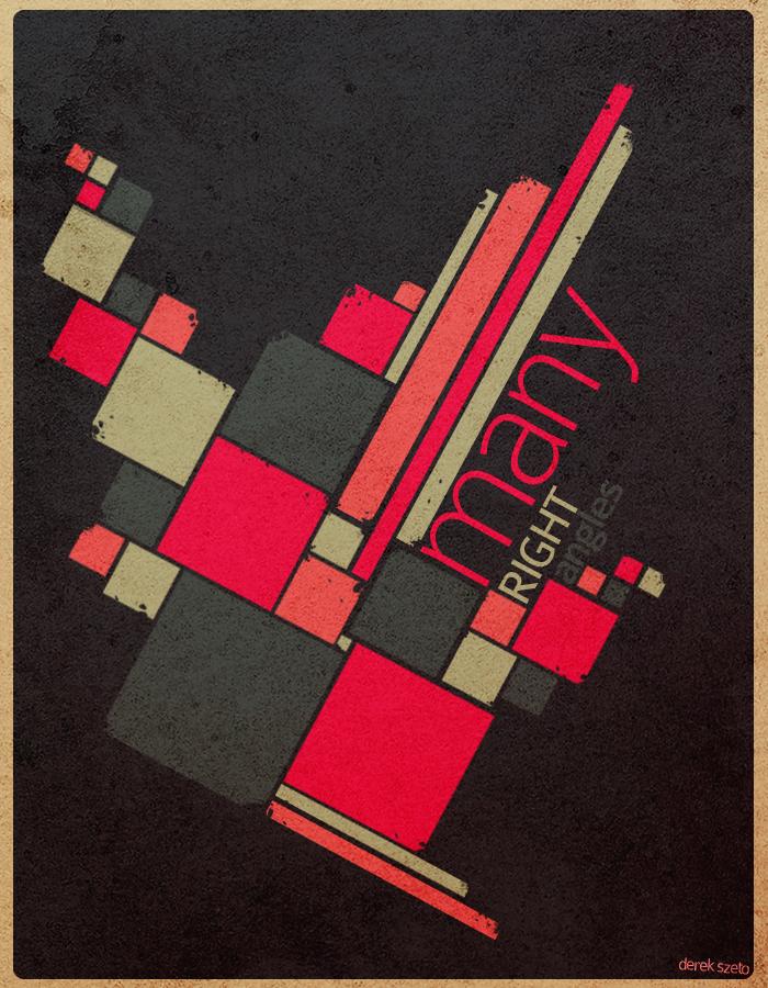 Many Right Angles by shurai