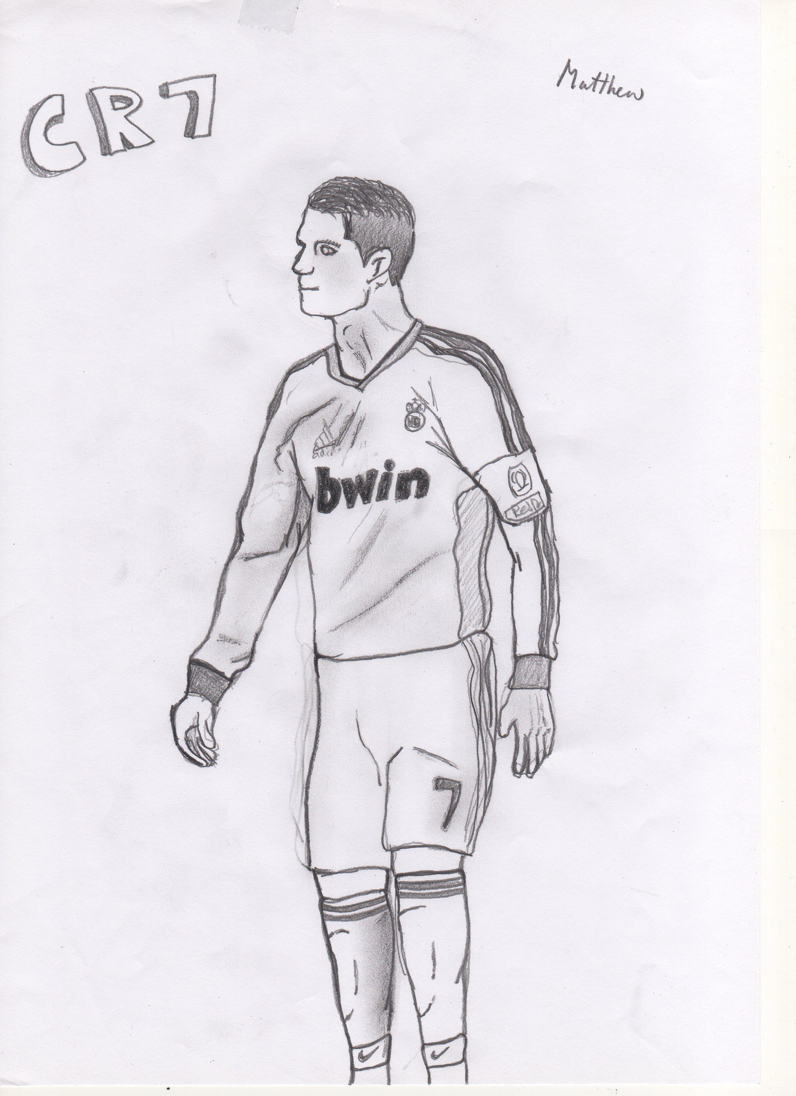 Рисунки ручкой футбол