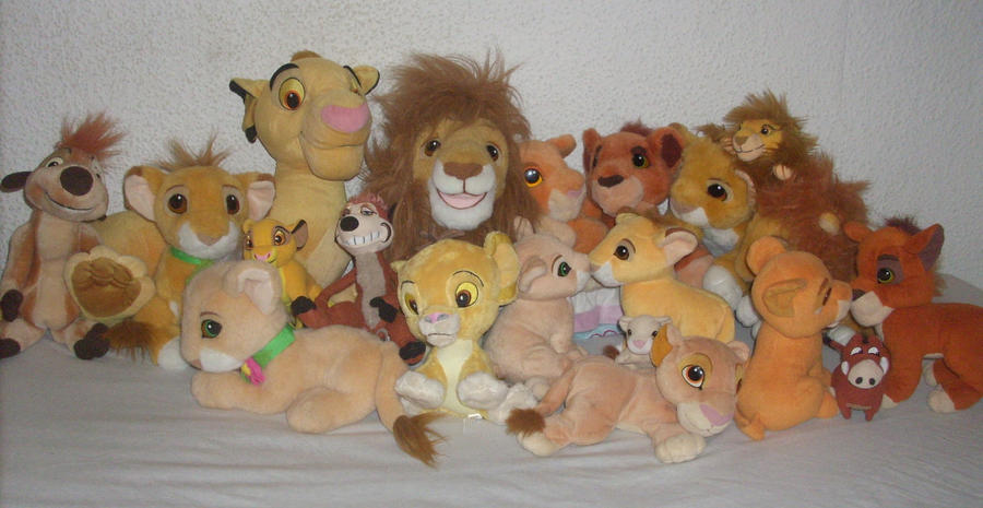 My Lion King Plush Collection 2012 by kratosisy
