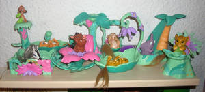 The Lion King Jungle Friend Babies Collection 2012