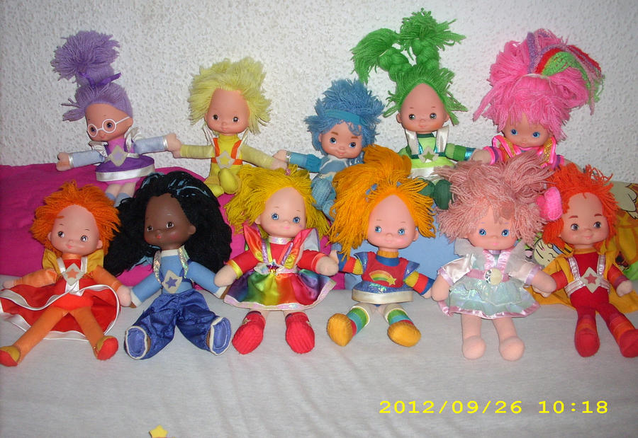 Rainbow Brite /Regina Regenbogen 2012 Collection J by kratosisy