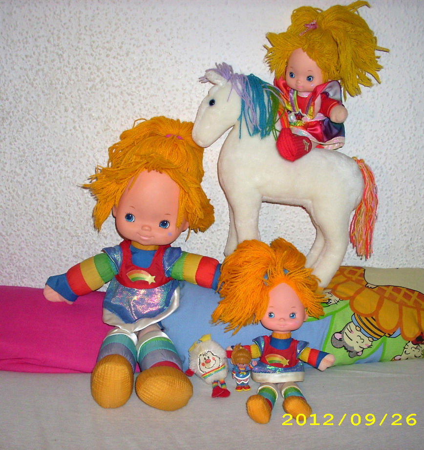 Rainbow Brite /Regina Regenbogen 2012 Collection L by kratosisy