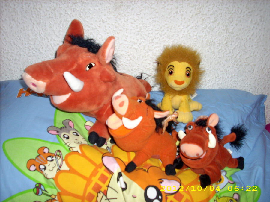 The Lion King Plush Collection *UPDATE* No 1 by kratosisy