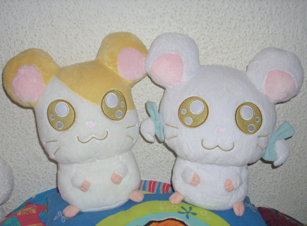 Hamtaro Plush Collection *Update *1 by kratosisy