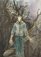 Caedmon in the Wood by emera