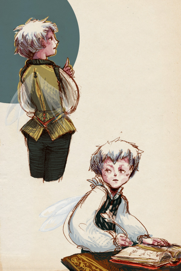 Grumpy Fairy Pageboy by emera