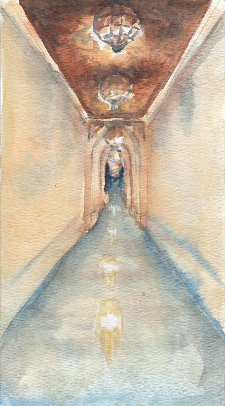 Dream Hallway by emera