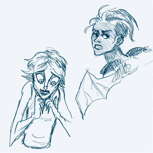 Saga: Alana + Noreen by emera