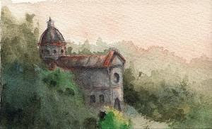 Hill abbey by emera