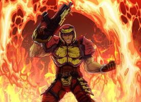 Ranger (Quake Champions) by Glitchping