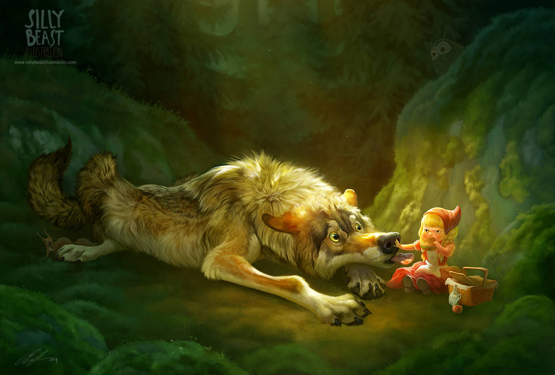 Little Red Riding Hood by ailah