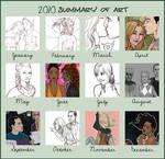2010 Art Summary by artgyrl