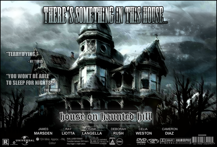 House On Haunted Hill Poster By AvtarSSD ...