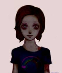 The Walking Dead: zombie Sophia by AngelsForeverXO