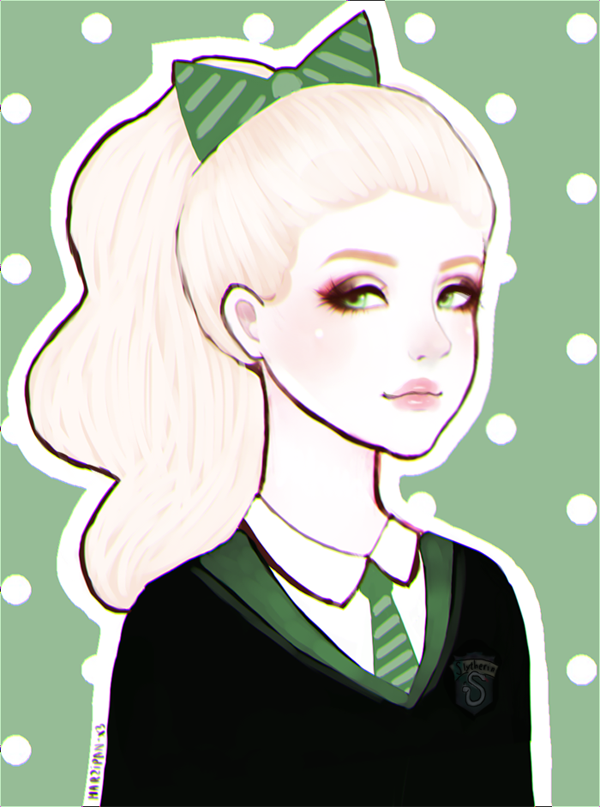 Barbie was in Slytherin too by Marzipan-x3