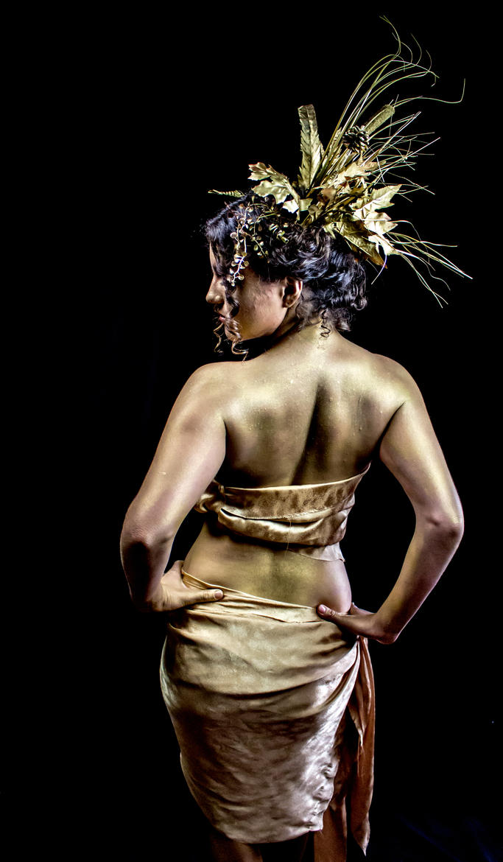 Golden Goddess by lovehate-eternal
