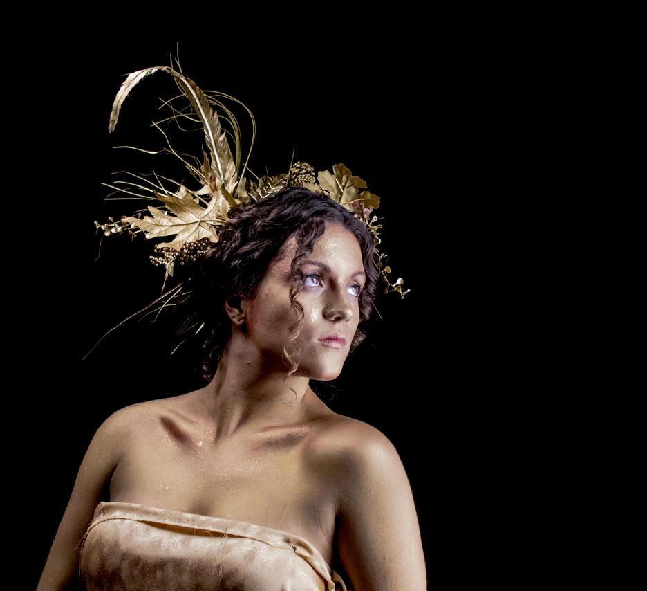 Golden Goddess 3 by lovehate-eternal