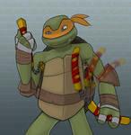 Michelangelo - Hot Nunchaku Fury