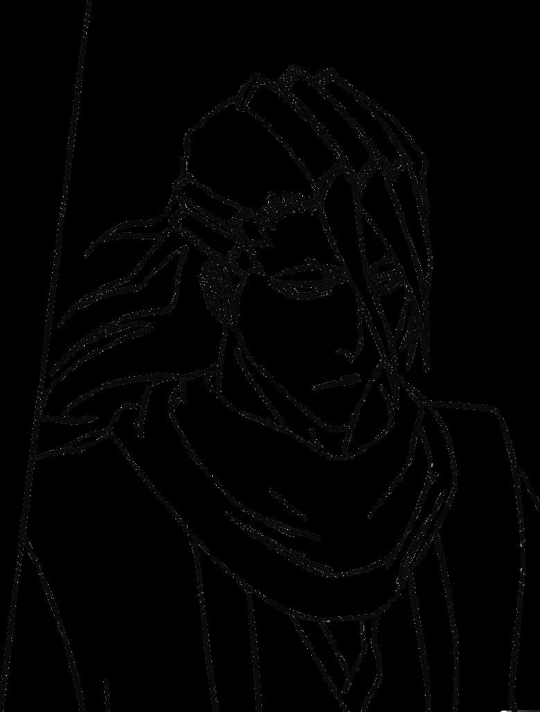 Bleach 298 Byakuya Lineart By Xset On DeviantArt